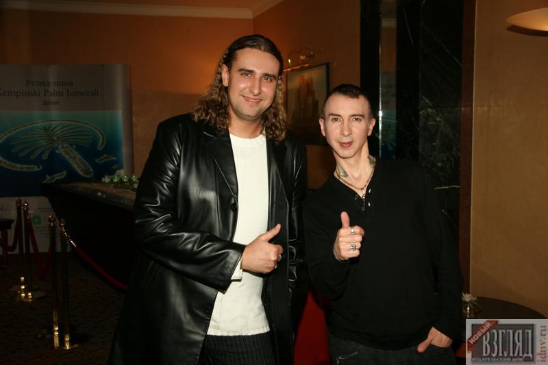 Marc Almond (Марк Элмонд) и Василий Козлов. Москва, 2006 год.