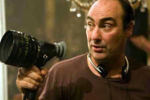 Оливер Паркер съемках фильма «Дориан Грей»