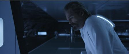 Кадр из фильма «ТРОН: Наследие» с участием Джеффа Бриджеса
