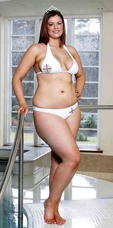 """""""Вице-Мисс Англия-2008"""". Объемная противоположность героине фильма"""
