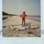Виктор Цой на пляже