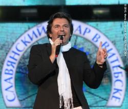 """Томас Андерс на фестивале """"Славянский базар в Витебске"""" (2010)"""