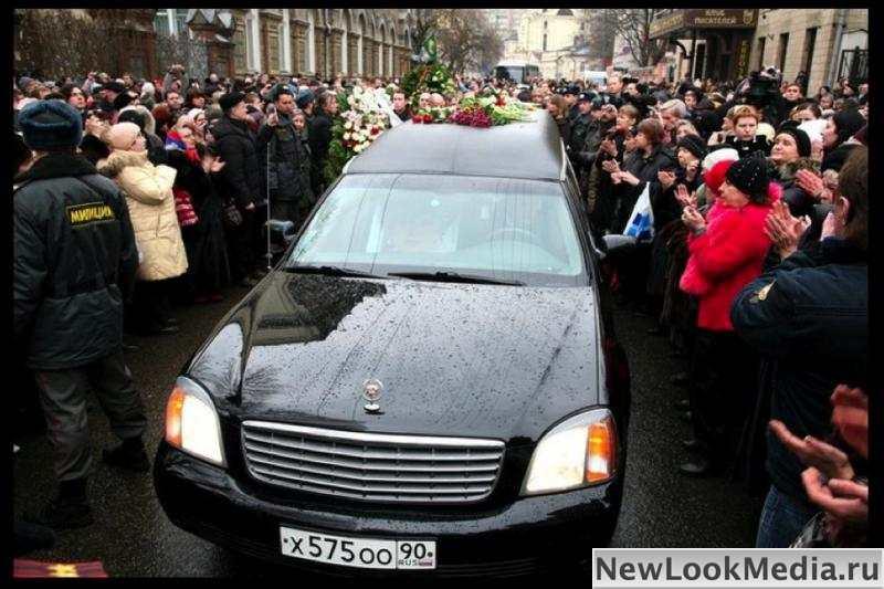 Прощание с Людмилой Гурченко. Фото Георгия Аветисова