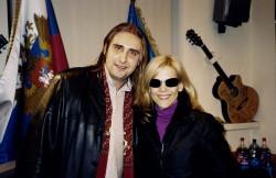 Василий Козлов и C.C.Catch в офисе Авторадио
