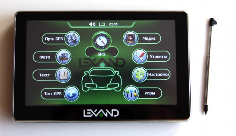 Навигатор Lexand ST-5350