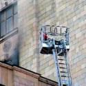 Пожар в МГУ
