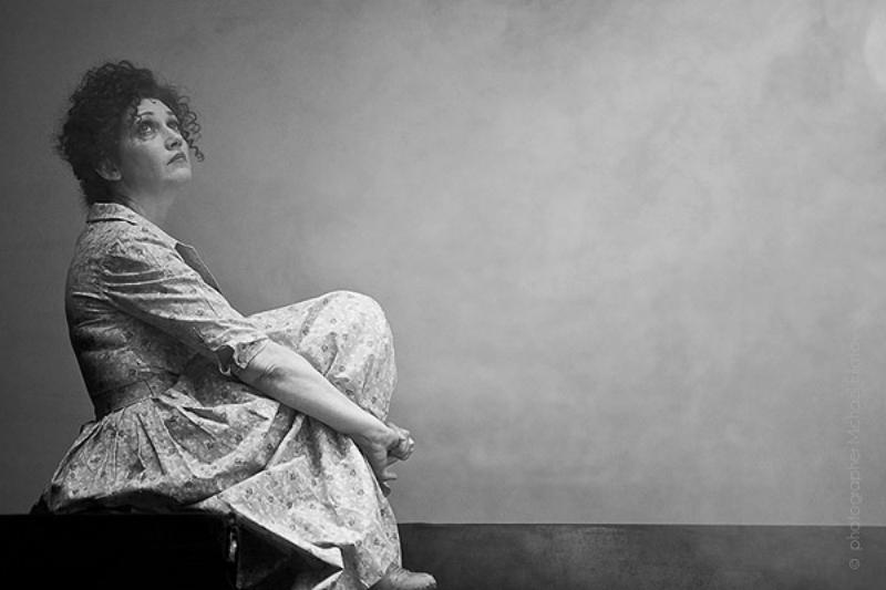 Евгения Додина в роли Сары, «Железная Дорога в Дамаск», театр Габима (Израиль), фотограф Михаил Филатов