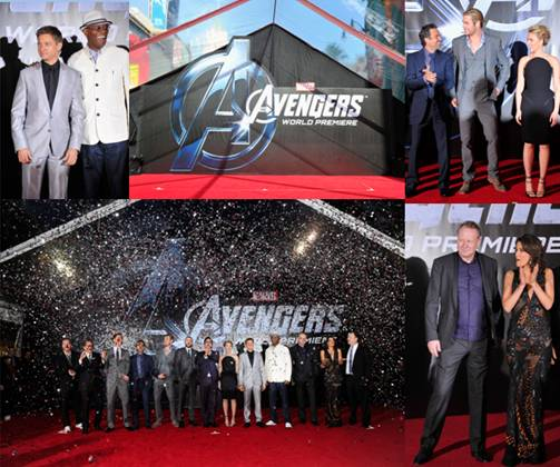 Мировая премьера блокбастера Marvel «Мстители»