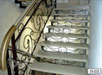 Перила для элитных лестниц
