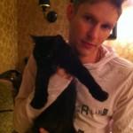 Кошка Анфисы Чеховой и Алексей Елистратов