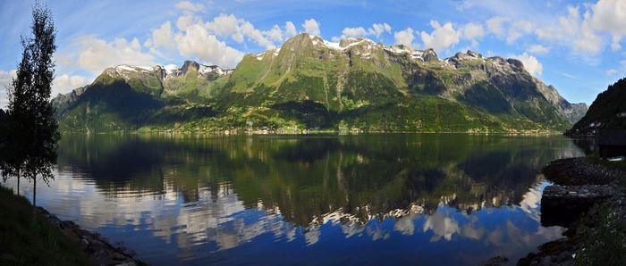 Хардангерфьорд в Норвегии