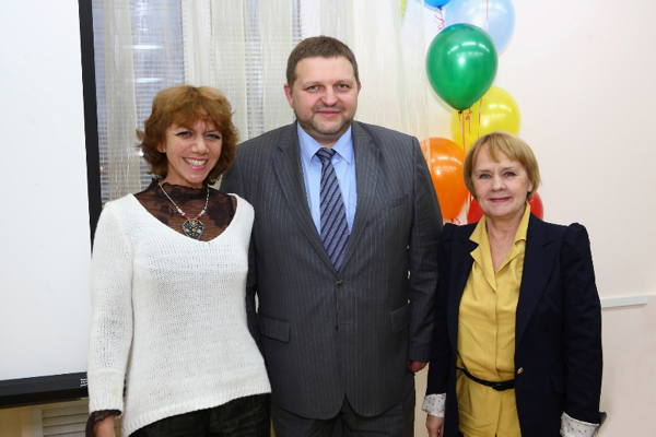 Э.  Шумилова,  Никита Белых, Г.Федосеева