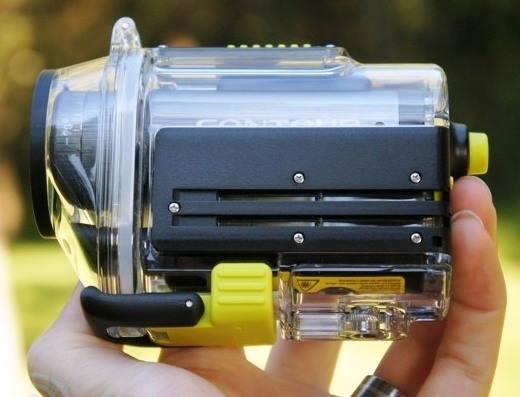 Экшн камера Contour+2 выдерживает погружение на глубину до 60 метров