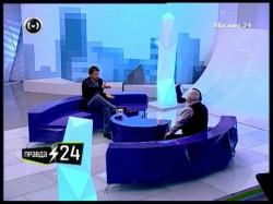 Евгений Додолев и Леонид Якубович