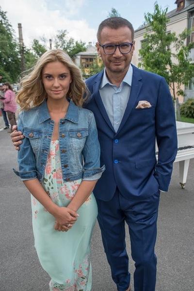 Агата Муцениеце и Андрей Ковалев