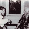 Два «артиста». С Шагалом.