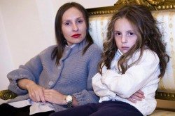 Ирина Миронова с дочерью