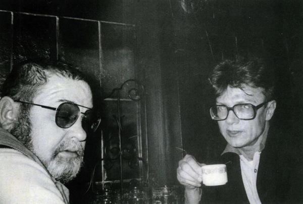Юлиан Семенов и Эдуард Лимонов