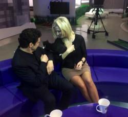 Мария Максакова и Марио Франгулис