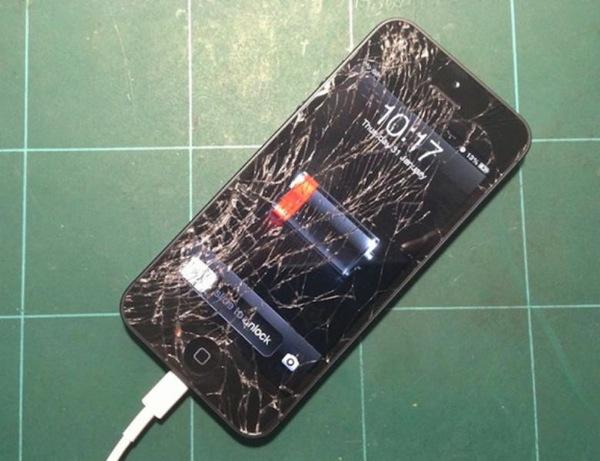 IPhone 5 glass