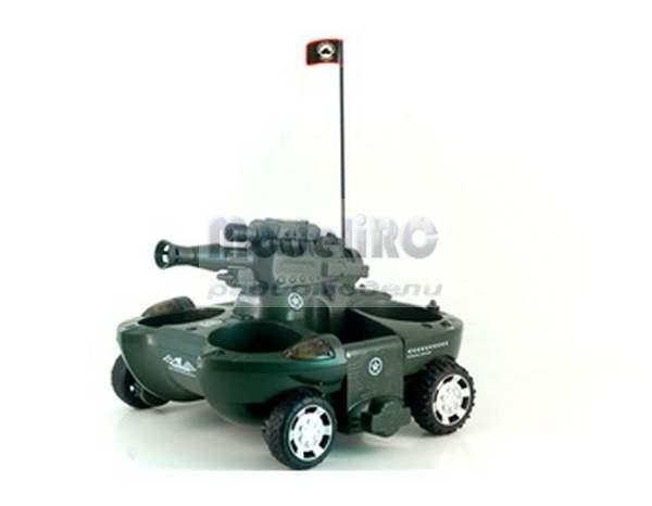 радиоуправляемый черный танк