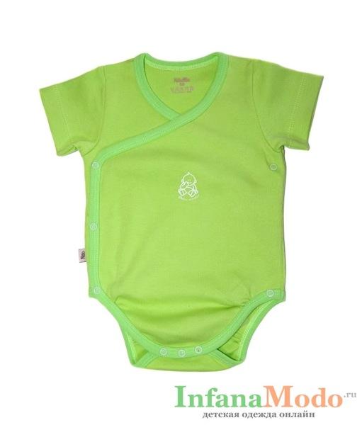 Боди NinoMio на запахе зеленое 1.06.9Т