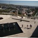 """Вид на Ереван с одной из террас """"Каскада"""""""