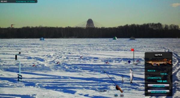 онлайн игра рыбалка и охота зимняя