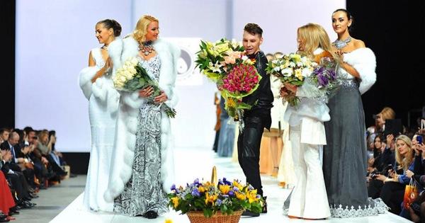 Показ коллекции в рамках «Moscow Fashion Week» в Гостином дворе