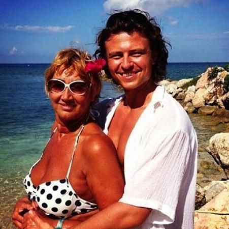 Прохор Шаляпини его жена, бизнесвумен Лариса Копенкина
