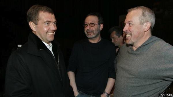 Макаревич и Медведев
