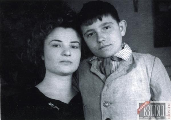 Юрий Лонго в детстве