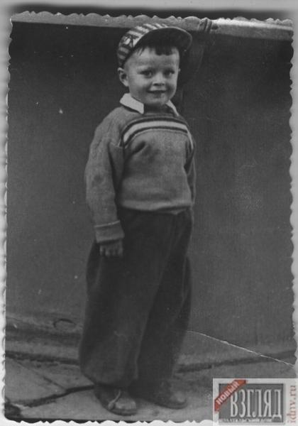Григорий Гладков в детстве