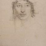 Портрет Тамары Поповой 1917