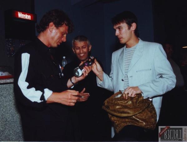 Сташевский дарил друзьям водку  «Влад», выпускаемую Айзеншписом