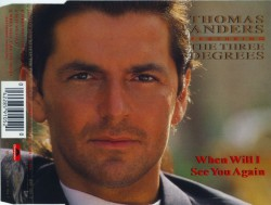 Thomas Anders - When Will I See You Again (1993, CD Single)