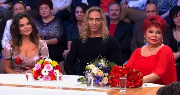 Наташа Королева и Тарзан у Андрея Малахова