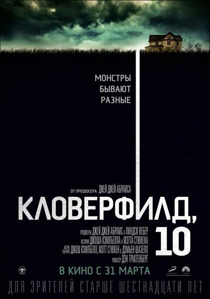 «Кловерфилд» Постер