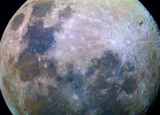 Транзит МКС по диску Луны Австралия Фото Дилан О Доннелл