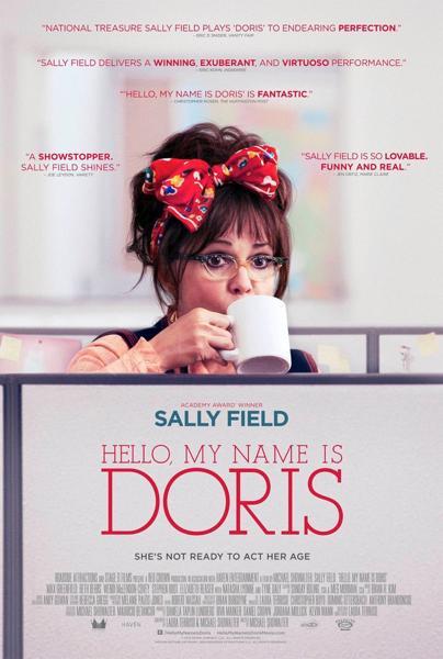 «Привет меня зовут Дорис»  Постер