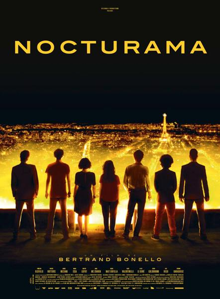 Nocturama paris is happening poster