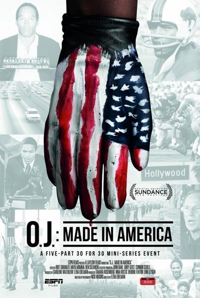 О Джей Сделано в Америке  Постер