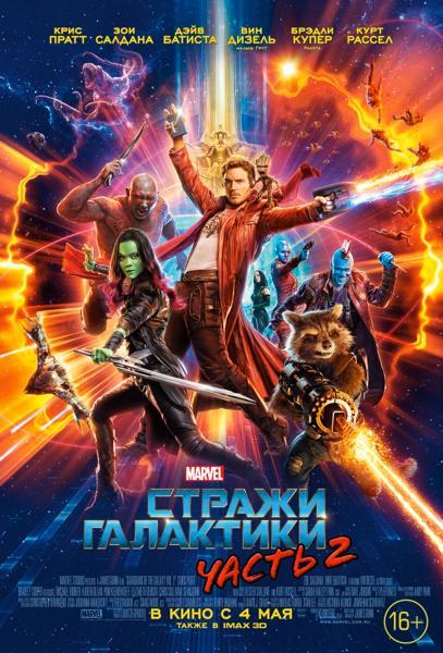 Стражи Галактики Часть 2.  Постер