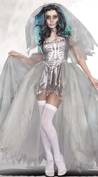 Костюм невесты-приведения