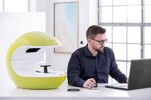 3D сканер NeWay в работе