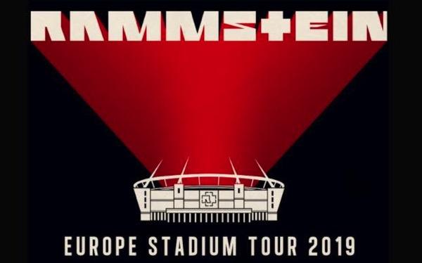 Rammstein Europe Stadium Tour 2019