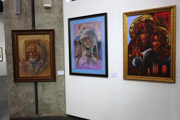 Барков. Выставка