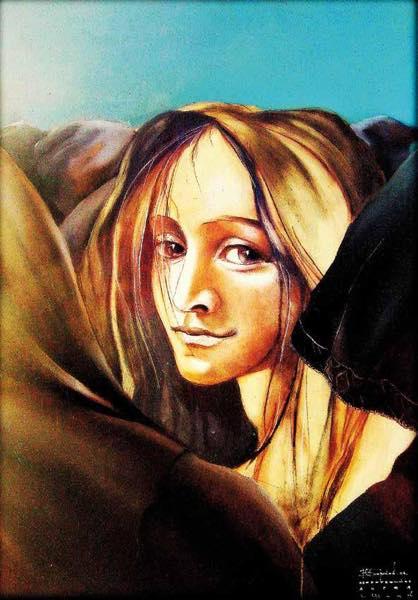 «Обернувшийся Ангел» 2006 г. В. Барков