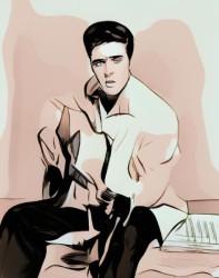 Король рок-музыки Элвис Пресли