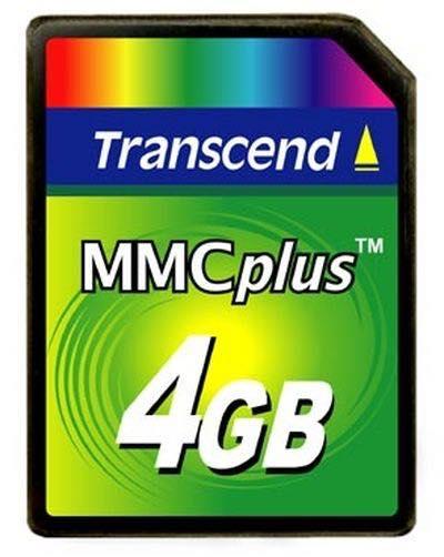 Карта MMCPlus от Transcend с емкостью 4 Гб